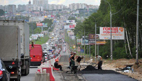 У Калужского шоссе появятся участки-дублеры