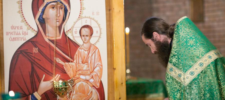 Престольный  праздник Троицка