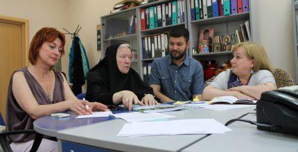 Сбор гуманитарной помощи для жителей Донбасса