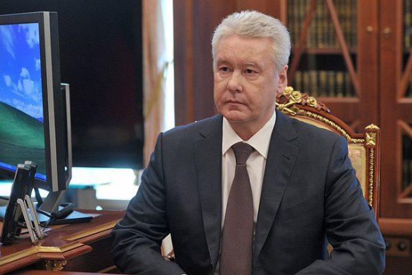 Сергей Собянин осмотрел благоустройство на площади Гагарина