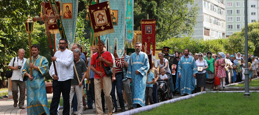 Соборность крестного хода
