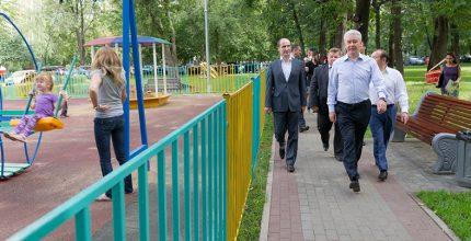 Мэр Москвы планирует открыть 50 новых парков в этом году