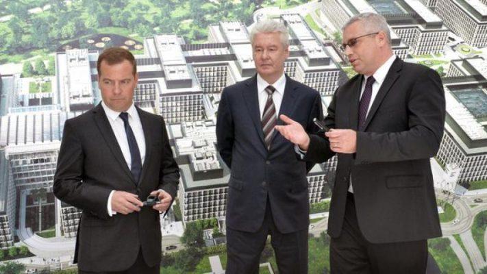 Мэр Москвы Сергей Собянин принял участие в совещании по вопросам развития новых территорий столицы