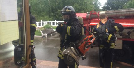 Тренировочные пожарно-тактические учения