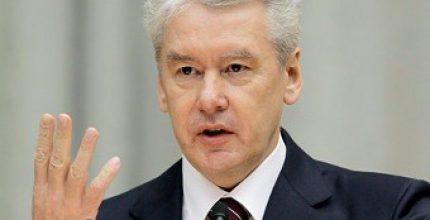 Собянин осмотрел ход работ по строительству развязки на пересечении Ленинского проспекта и МКАД