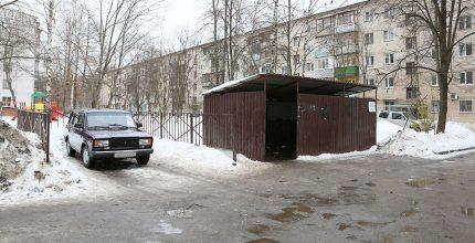 Мусорка или парковка?