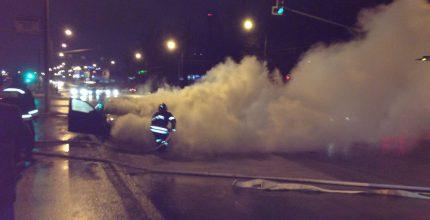 Машина в огне. Что делать, если ваш автомобиль загорелся?