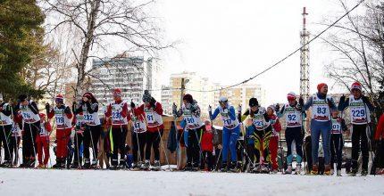 Гонка славы. Эпизоды с соревнований на лыжной базе Лесная