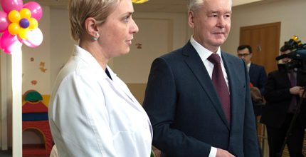 Мэр Москвы Собянин поздравил молодых мам с наступающим 8 марта