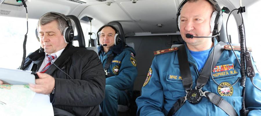 Авиационный мониторинг на территории новой Москвы.