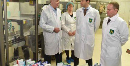 Собянин открыл линию по производству жизненно важных медикаментов, не имеющих аналогов в России