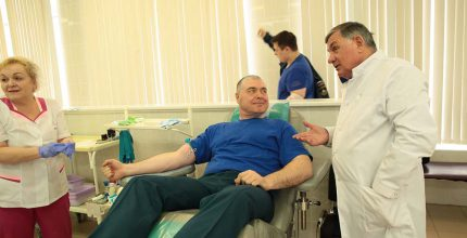 Впервые прошла акция МЧС «Капля крови – жизнь»