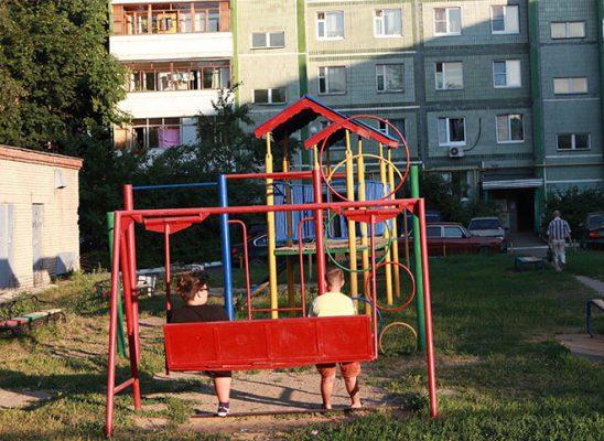 Кто поставит детскую площадку?