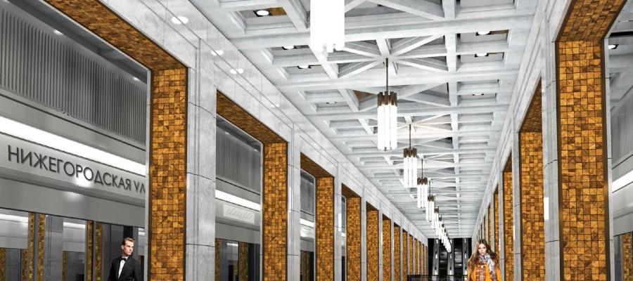 Москва строит метро
