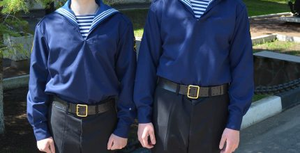 Моряки из Троицка