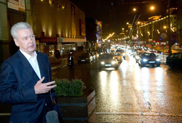 По мнению Собянина, отремонтированный Октябрьский тоннель улучшит движение на Садовом кольце