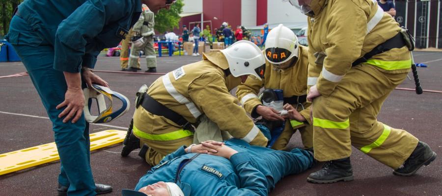 Чемпионат города Москвы по пожарно-прикладному спорту
