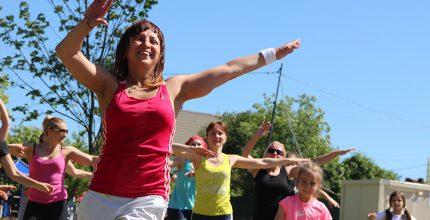 В субботу в «Заречье» фитнес для всех