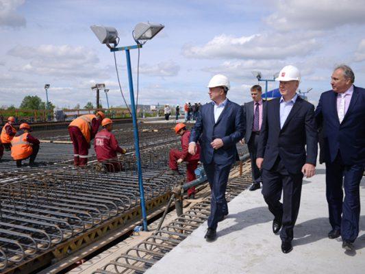 Реконструкция Волоколамского путепровода улучшит движение на северо-западе Москвы