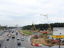 Собянин: Основные работы по реконструкции Волгоградки будут завершены до конца года