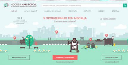Подать жалобу на работу московских поликлиник можно на портале «Наш город»