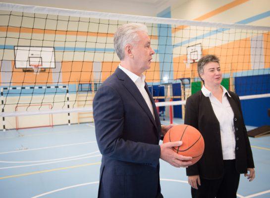 Собянин: Одна из лучших городских школ получила новое здание