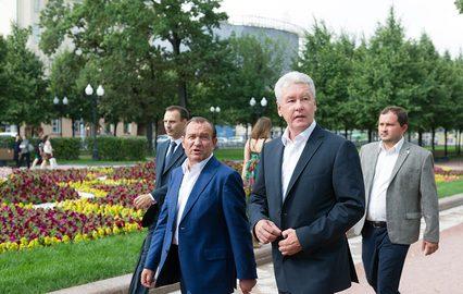 Собянин: Благоустройство Олимпийского парка завершится уже в октябре