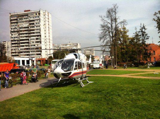 Костры, площадки и вертолёты