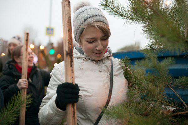 «Миллион деревьев» Троицка