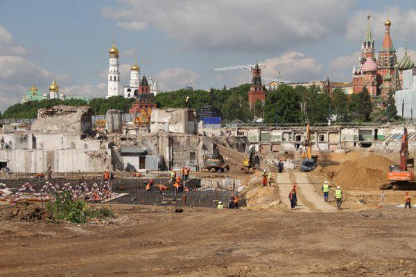 """Собянин: В """"Зарядье"""" будет сохранена древняя подземная улица Москвы"""