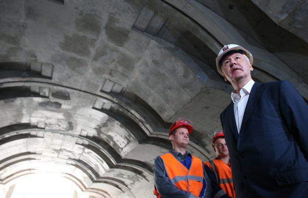 Собянин: Новый тоннель и путепровод улучшит ситуацию на Люблинской улице