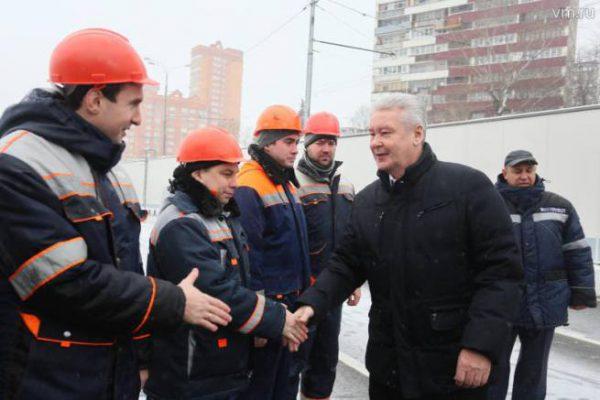 Собянин: Реконструкция Можайского шоссе в Москве завершена