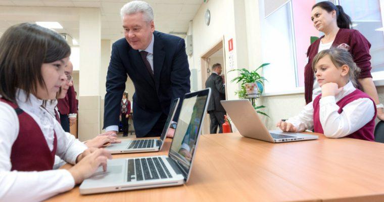 Собянин: в 2015 году в Москве появится 43 новые школы и детских сада