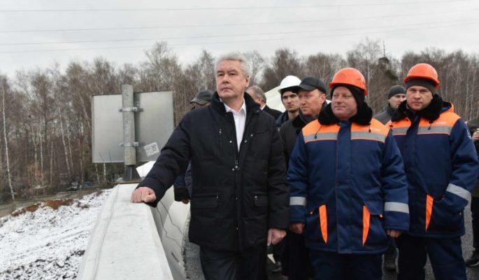 Реконструкция улучшила пропускную способность развязки МКАД с Ленинским проспектом на 25-30%