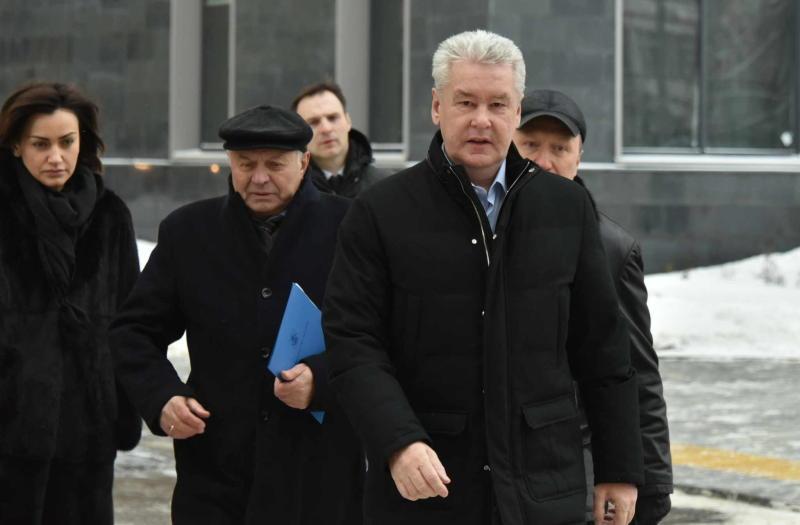 Мэр Москвы Сергей Собянин осмотрел жилые дома в районе Таганский