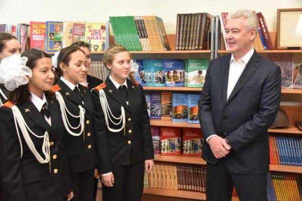 В Москве в районе Северный открылась новая школа на 650 мест