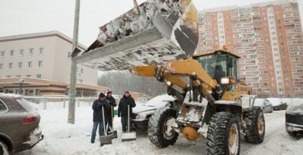 Война со снегом: бои локального значения