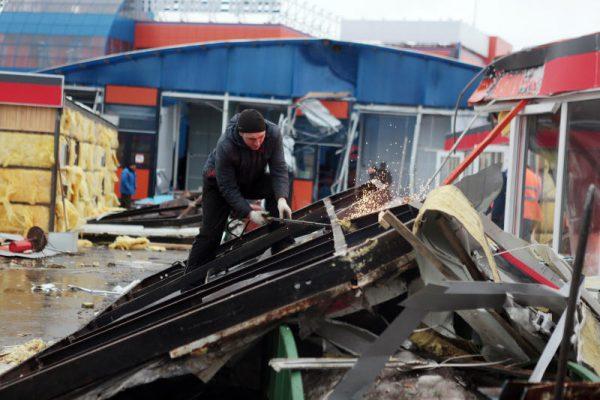 В Москве завершают сносить самострой, угрожающий жизни людей