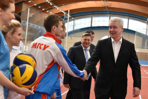 Москва ежегодно проводит до 120 студенческих спортивных мероприятий