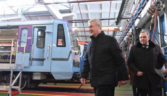 Собянин: Таганско-Краснопресненская линия получит новые вагоны в этом году
