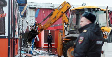 В Столице завершается снос опасного для москвичей самостроя