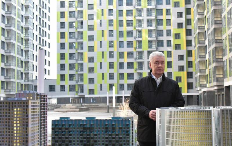 Сергей Собянин рассказал о планах строительства жилой площади