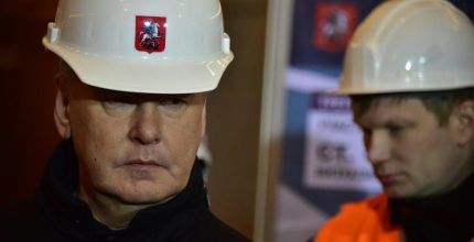 Собянин: Строительство первого участка ТПК в Москве завершится в течение года