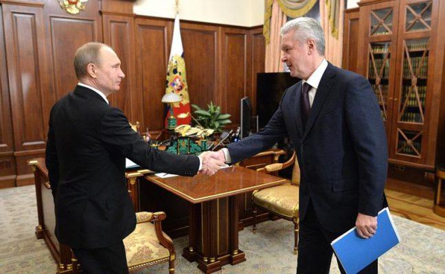 Путин и Собянин обсудили строительство МКЖД в столице