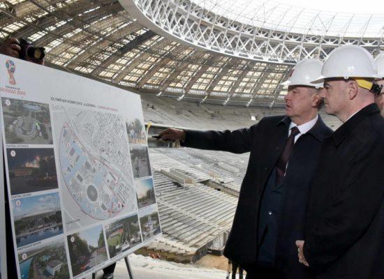 Собянин: Москва готовится к Чемпионату мира по футболу опережающими темпами