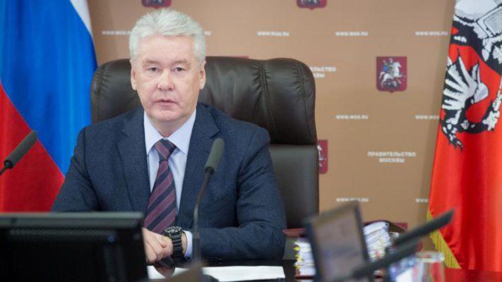 Коллектив Московского училища олимпийского резерва №1 получил поздравления с юбилеем от мэра Москвы