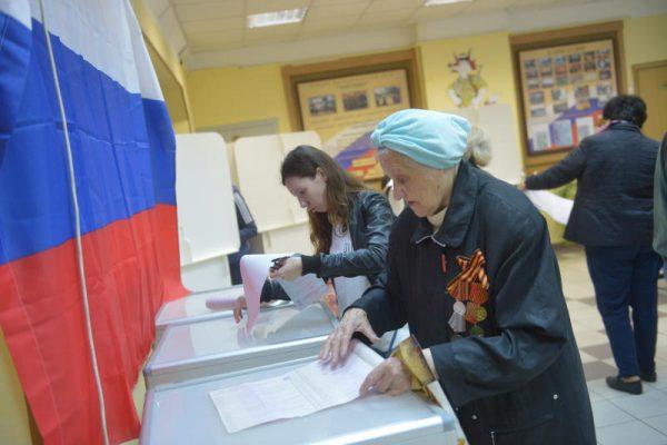 В Москве отмечается явка на предварительное голосование ЕР выше, чем на праймериз в МГД