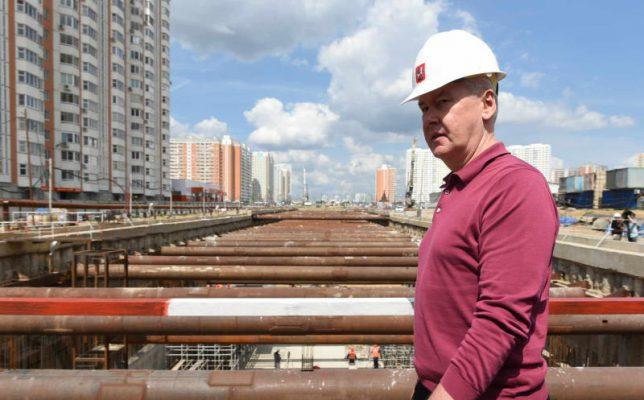 Собянин: Осенью 2016 на въезде в Зеленоград по Ленинградке появится двухуровневая развязка