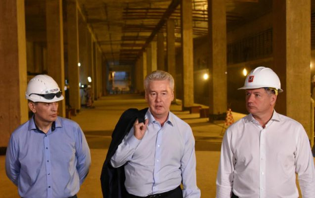 Собянин: Строительство первой очереди ТПК вышло на финишную прямую
