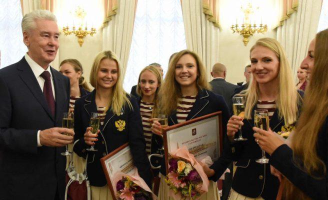 Почти половину медалей сборной России на играх в Рио завоевали московские спортсмены